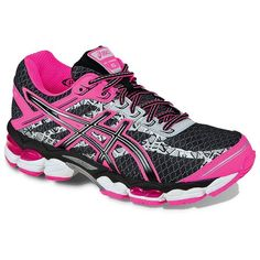 ASICS GEL-Cumulus 15 Lite-Show Running Shoes (155 BRL) ❤ liked on Polyvore featuring shoes, athletic shoes, black, kohl shoes, asics athletic shoes, lace up shoes, mesh shoes and black athletic shoes