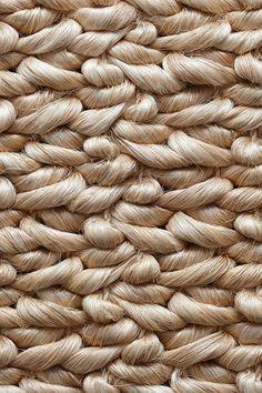 Appari handwoven abaca rug in Wild Rice colorway, by Merida.