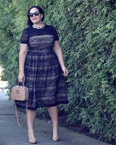 Today on girlwithcurves the Perfect Valentines Day Dress
