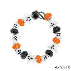 Halloween Large Hole Bracelet Idea