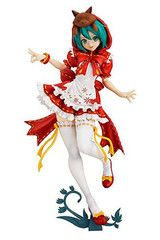 Hatsune Miku Project Diva Mikuzukin PVC Figure Max Factory 155 for sale online Anime Figures, Action Figures, Hatsune Miku Project Diva, Pvc Paint, Idolmaster Cinderella, Thing 1, Red Hood, Figure Model, Red Riding Hood