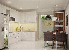 Với những căn hộ chung cư hay nhà đất có diện tích nhỏ hẹp thì mọi khoảng trống trong ngôi nhà đều tận được tận dụng t