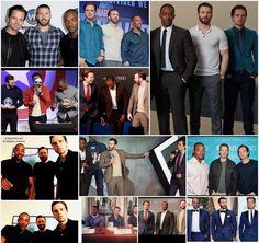 Sebastian ⭐ Stan, Chris Evans and Anthony Mackie created by Kimberlydyan