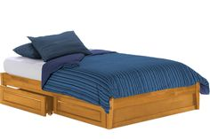 Sage Oak Futon Bed With Storage