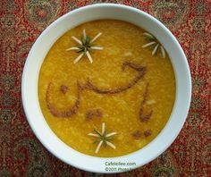 Cafe Leilee کافه لیلی - Foods from Persia to Bay Area: Saffron Rice Pudding (Sholehzard) شله زرد