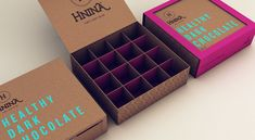 Gorgeous design.... Hnina - Healthy Chocolates - Director's cut by Isabela Rodrigues, via Behance