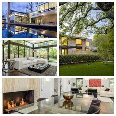 Mid Century Modern (with a Splash of GLAM) {Video} modern interior design modern art features