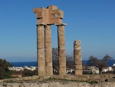 Standing proud at the top of Monte Smith in Rhodes you will find the Temple of Apollo.. more here!  https://theislandofrhodes.com/monte-smith-in-rhodes