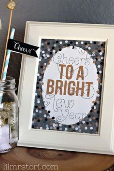 Cute & Free New years eve sign!