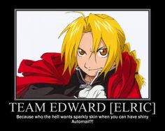 The ONLY Team Edward you will EVER find me on!