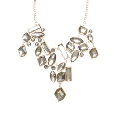 I love the Punch Drop Off Jewel Necklace from LittleBlackBag