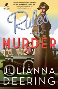 Giveaway at Overcoming With God: Rules of Murder by Julianna Deering #BookGiveaway