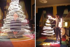 Awesome ideas for holiday photos. Light show is our personal fave :)