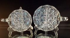 American Brilliant Cut Glass Pair Of Matching Nappies Gorgeous Cutting! Cluster Type Pattern by VioletAndValley on Etsy https://www.etsy.com/listing/194162278/american-brilliant-cut-glass-pair-of