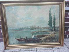 Steinmetz, Paintings, Art, Oil On Canvas, Antique Furniture, Old Pictures, Landscape Pictures, Wood Frames, Art Prints
