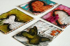 Donna Downey's Awesome ATC cards