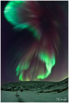 Every time I see the aurora borealis dancing through the midnight sky, I think of my dad and how much I miss him.