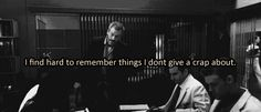 I find it hard to remember things I don't give a crap about.