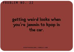 "I'm usually like. ""Ya I'm listening to my loop tunes... Waddup!"" Lol in my head."