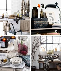 Simple Living - a new pretty collection by H&M Home | I don't know why but this is very cosy