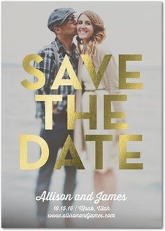 Tell your love story in a stylish Save the Date