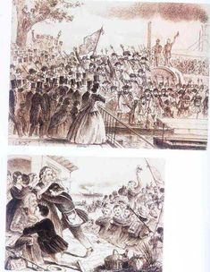 Representações românticas da imprensa em torno do chamamento dos Voluntários da Pátria (Semana Ilustrada, 19 de fevereiro e 12 de março de 1865) - Guerra do Paraguai
