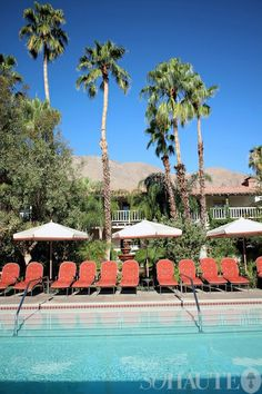 staying at the Colony Palms Hotel in Palm Springs....