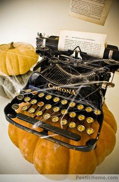 Haunted Vintage Typewriters