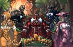 Power Rangers by K-fry-express.deviantart.com on @deviantART