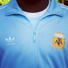 "@EnLawded.com's photo: ""The Adidas Originals Argentina 74 Track Top by EnLawded.com 