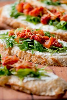 Roasted Tomatoes and Whipped Feta on Toast Recipe - NYT Cooking