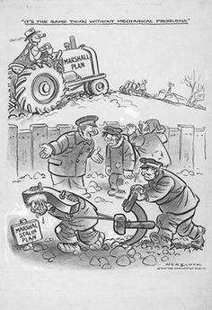 Cold war lesson through original documents.