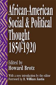 This book provides a comprehensive guide to the range and diversity of black thought. It offers a deep history of how the terms of contemporary debate over the future of black Americans were formed.