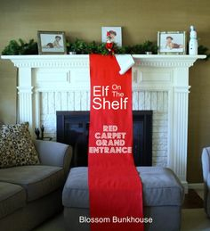 Red Carpet (Elf on the Shelf)