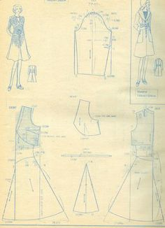 Japanese magazine dress pattern
