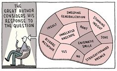 """Tom Gauld's Brilliant Literary Cartoons Blur the Artificial Line Between """"High"""" and """"Pop"""" Culture   Brain Pickings"""