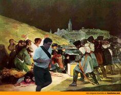 El arruina fotos en los fusilamientos del 3 de mayo de Goya.