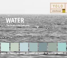 YOLO Colorhouse WATER color family