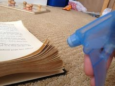 DIY Halloween Spell Book and How to age pages