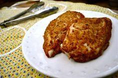Mustard Baked Chicken Breasts