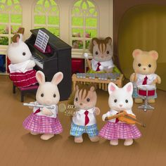 Calico Critters School Music Set by International Playthings - $19.95