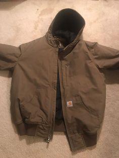 a331192424 carhartt quick duck jacket Mens Medium  fashion  clothing  shoes   accessories  mensclothing  coatsjackets (ebay link)