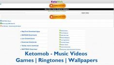 Once you have visited the ketomob platform you must have seen the slogan. This is one wap portal that I love so much thou there Free Music Video, Video Game Music, Music Videos, Play Game Online, Online Games, 4g Internet, Free Mobile Games, Make Facebook, Application Download