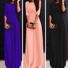 Cheap long maxi, Buy Quality maxi dress directly from China long maxi dress Suppliers: Ruiyige Womens Chiffon Half Sleeve Long Maxi Dress Party 2017 Tunic Slim Wedding Prom Gown Dresses Party Elegant Summer Boho Sexy Maxi Dress, Chiffon Dress Long, Boho Dress, Ball Gowns Prom, Prom Dresses, Dress Prom, Mini Dresses, Long Sleeve Evening Dresses, Indian Designer Outfits