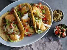 Fish Tacos from CookingChannelTV.com