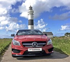 The Mercedes-Benz CLA 45 AMG Shooting Brake performmaster Engine Has More Than 200 HP Per Liter