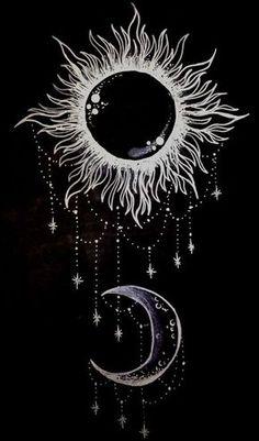 La luna & el sol