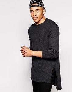 ASOS Longline Side Split Sweater