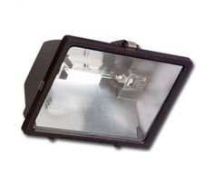 300 Watt Quartz Halogen Floodlight by e-conolight. $9.40. Details: Quartz Halogen Floodlight. Includes 300 Watt T-3 lamp, Applications: Security, signage, displays, landscaping and other residential uses. Dimensions: 6-1/4-in H x 9-in W x 4-in D, Lamp Type: 300W QH Lamp, Lamp Output: 4800 lumens, Lamp Color Rendition: 100 CRI,