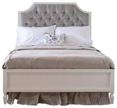 Newport Cottages Beverly Bed with Tufted Panel-Twin